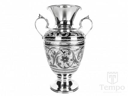 серебряные вазы для цветов