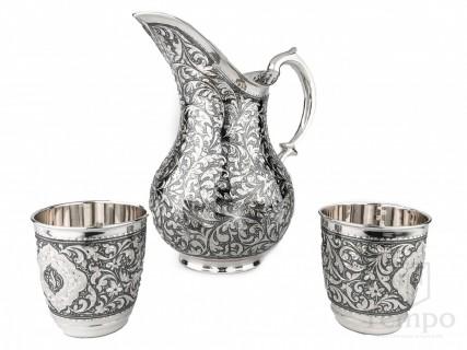 серебряные кофейные наборы