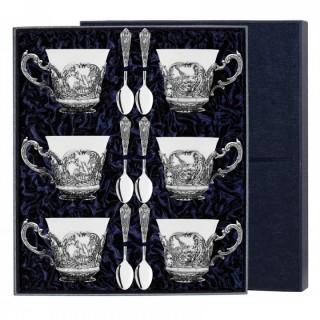 сербряный чайный набор